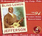 Blind Lemon Jefferson: Classic Sides d.1 1926 Chicago