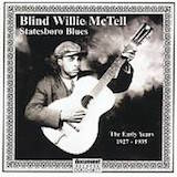 Blind Willie McTell: Statesboro Blues: 1927-35 (1)
