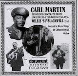 "Carl Martin & Willie ""61"" Blackwell-1936-41"
