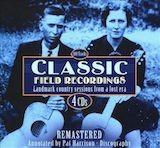 Classic Field Recordings d.3 1937-40