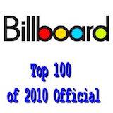 Billboard Top 100 of 2010