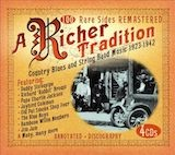 A Richer Tradition: Country Blues & String Band Music 1923-37 d.4